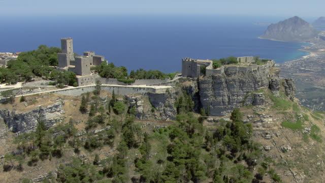 venus castle - mediterranean sea stock videos & royalty-free footage