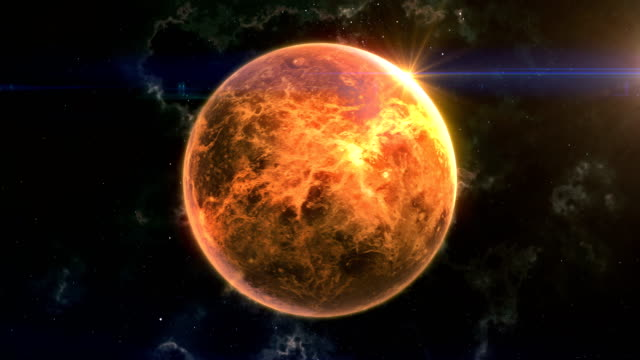 venus reveal in space - space exploration stock videos & royalty-free footage