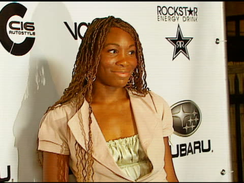 venus williams at the subaru / dc shoes x games event at avalon in hollywood california on august 4 2006 - dc shoes stock videos & royalty-free footage