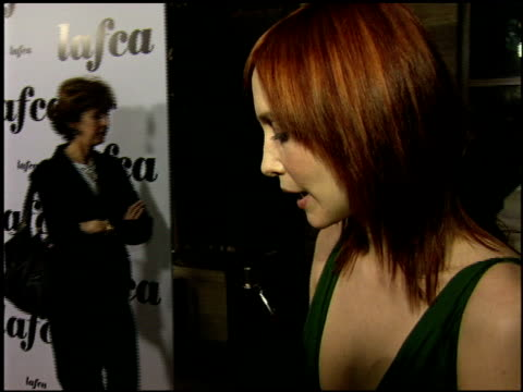 vera farmiga at the 2006 lafca los angeles film critic's association awards at park hyatt in century city, california on january 17, 2006. - critic stock videos & royalty-free footage