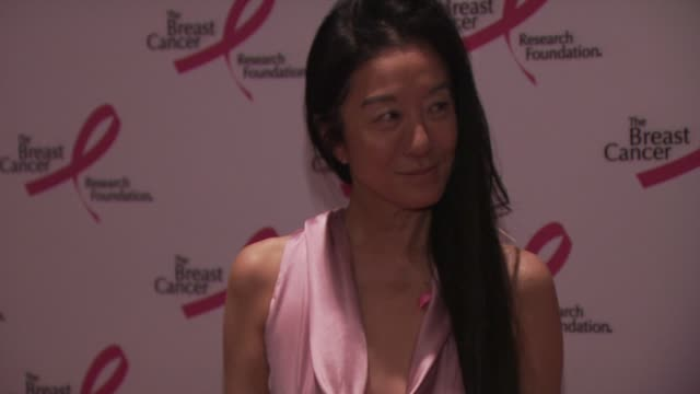vera wang at the 2010 breast cancer research foundation's hot pink party - arrivals at new york ny. - hot pink stock videos & royalty-free footage