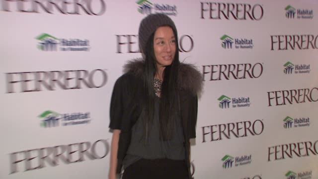 Vera Wang at the Ferrero Chocolates and Evan Lysacek Fashion Event at New York NY