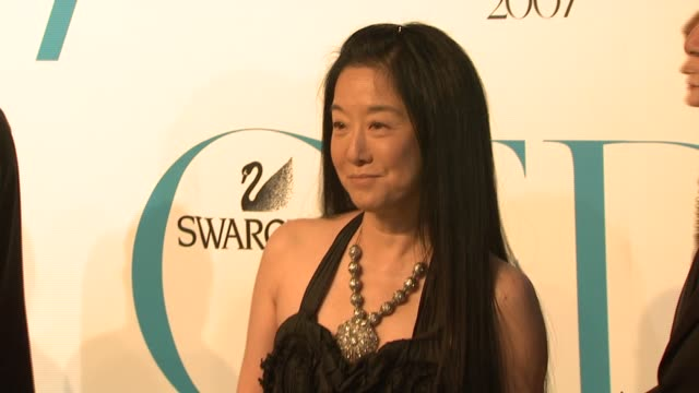 Vera Wang at the The 2007 CFDA Awards at New York Public Library in New York New York on June 4 2007