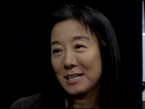 vera wang on the rebellious decadence that inspired this season's collection and the color influences from her youth at the olympus fashion week fall... - fashion collection stock videos & royalty-free footage