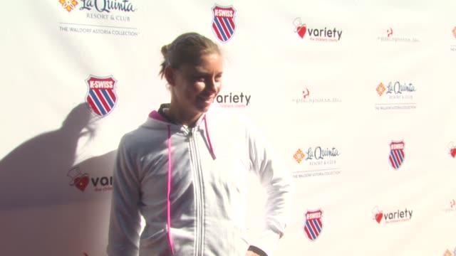 Vera Zvonareva at the 6th Annual KSwiss Desert Smash at La Quinta CA