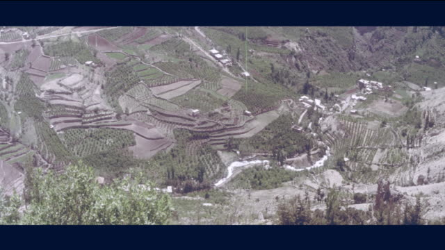 1968 - verdant valleys of lebanon - lebanon country stock videos & royalty-free footage