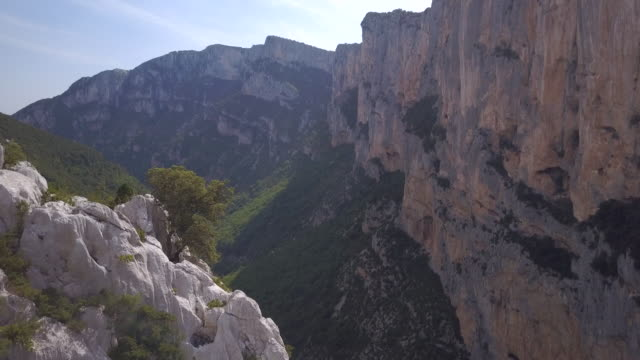 verdon gorge in france - ravine stock videos & royalty-free footage