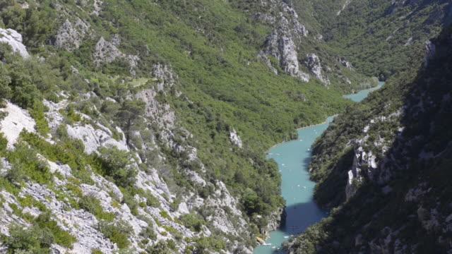 verdon river in grand canyon du verdon - var bildbanksvideor och videomaterial från bakom kulisserna