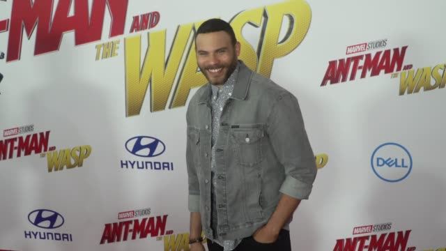 Verdun at the AntMan and the Wasp World Premiere at the El Capitan Theatre on June 25 2018 in Hollywood California