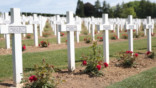 Verdun - The Douaumont ossuary in France