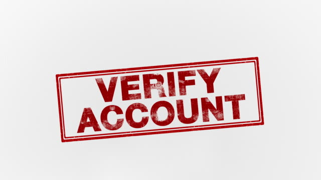verify account - seal stamp stock videos & royalty-free footage