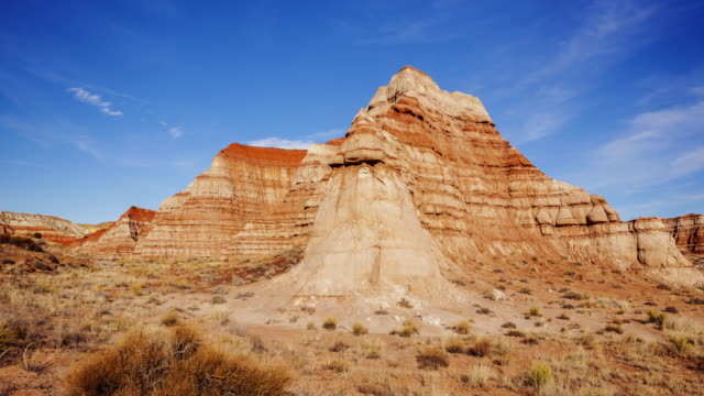 vermillion cliffs in grand staircase-escalante national monument, timelapse - grand staircase escalante national monument stock-videos und b-roll-filmmaterial