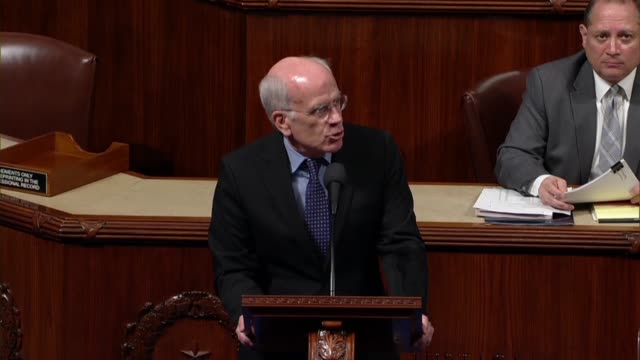 Vermont Congressman Peter Welch argues in debate on an unrelated rule that a resolution brought forth that would allow a debate over whether the...