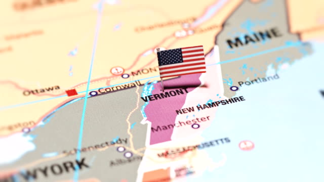 vermont from usa states - montpelier vermont stock videos & royalty-free footage