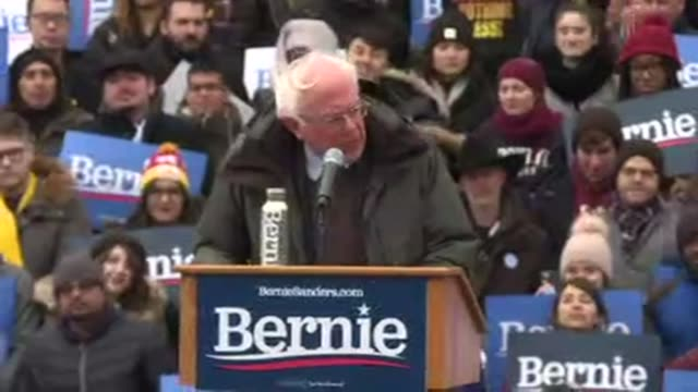 vermont senator bernie sanders officially launches his 2020 presidential campaign in brooklyn new york thanking supporters for being part of a... - bernie sanders stock videos & royalty-free footage