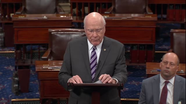 Vermont Senator Pat Leahy says in debate on confirming Judge Brett Kavanaugh to the Supreme Court that for any Senator who voted yes as new...
