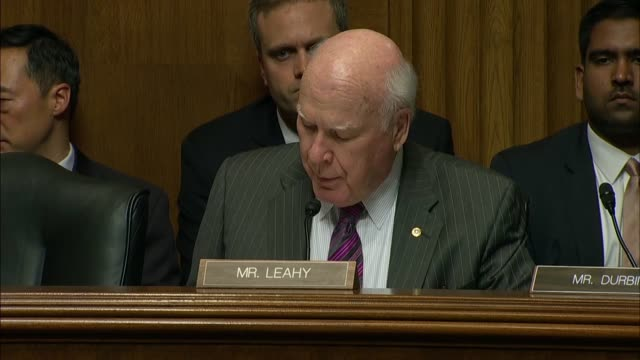 Vermont Senator Pat Leahy summarizes Russian efforts to interfere in US elections as they have in elections around the world saying they need to...