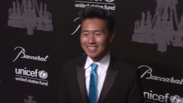 vern yip at the ninth annual unicef snowflake ball at cipriani, wall street on in new york city. - cipriani manhattan stock videos & royalty-free footage