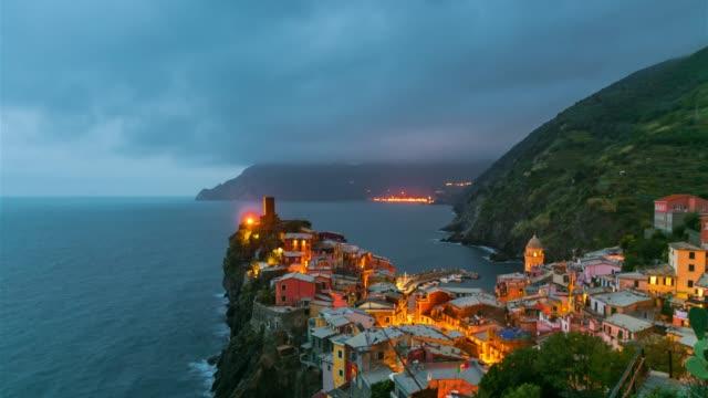 vernazza, cinque terre italy - sunny stock videos & royalty-free footage
