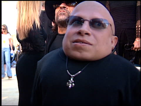 verne troyer at the 'austin powers in goldmember' premiere at universal amphitheatre in universal city, california on july 22, 2002. - verne troyer stock videos & royalty-free footage