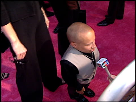 verne troyer at the 'austin powers' the spy who shagged me' premiere at universal amphitheatre in universal city california on june 8 1999 - verne troyer stock videos & royalty-free footage