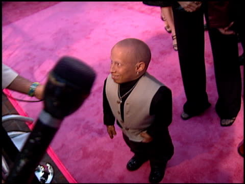 verne troyer at the 'austin powers' the spy who shagged me' premiere at universal amphitheatre in universal city, california on june 8, 1999. - verne troyer stock videos & royalty-free footage