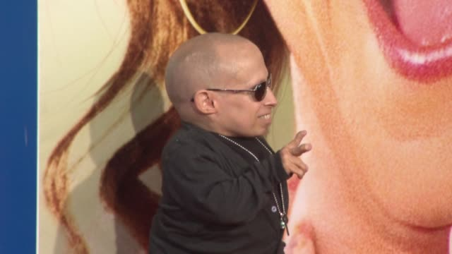 verne troyer at the 'jack and jill' world premiere at westwood ca - verne troyer stock videos & royalty-free footage