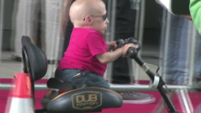 verne troyer at the spy kids all the time in the world 4d premiere in los angeles - verne troyer stock videos & royalty-free footage