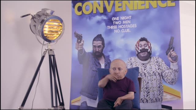 interview verne troyer on current work at bafta on september 15 2015 in london england - verne troyer stock videos & royalty-free footage