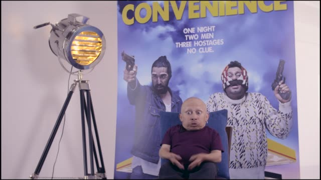 interview verne troyer on filming blockbusters at bafta on september 15 2015 in london england - verne troyer stock videos & royalty-free footage