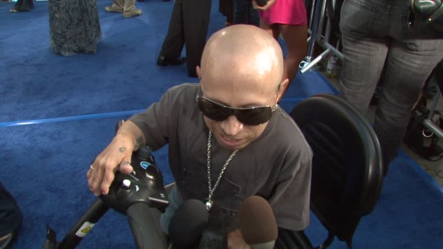 verne troyer on his role working with mike meyers again and what makes him so funny the funniest thing that went on between takes his love advice at... - verne troyer stock videos & royalty-free footage