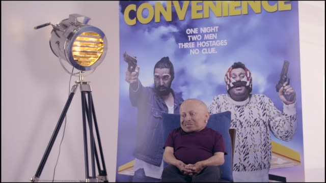 verne troyer on the film schedule at bafta on september 15, 2015 in london, england. - verne troyer stock videos & royalty-free footage