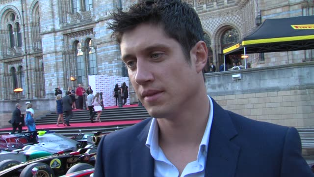vernon kay on supporting great ormand street hospital charity, on his work as a on great ormand street hospital charity ambassador, on bernie... - bernie ecclestone stock videos & royalty-free footage