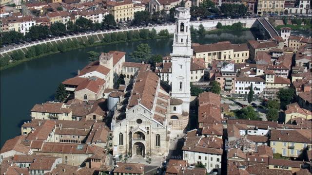 Verona Cathedral  - Aerial View - Veneto, Provincia di Verona, Verona, Italy