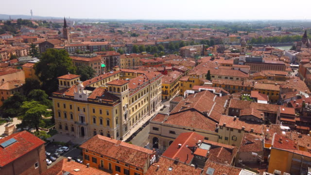 verona old city view - italian currency stock videos & royalty-free footage