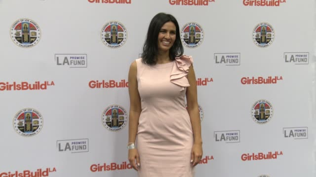 Veronica Melvin at LA Promise Fund's Girls Build Leadership Summit in Los Angeles CA
