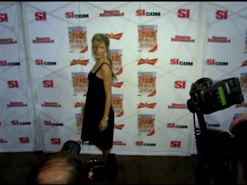 veronica varekova at the 2006 sports illustrated swimsuit issue photocall at crobar in new york new york on february 14 2006 - sports illustrated swimsuit issue stock videos & royalty-free footage