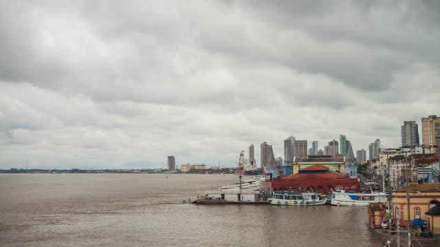 ver-o-peso market - belém brazil stock videos and b-roll footage