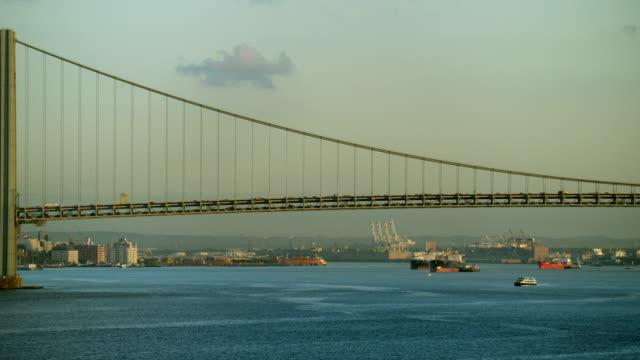 Verrazano Narrows Bridge In NYC
