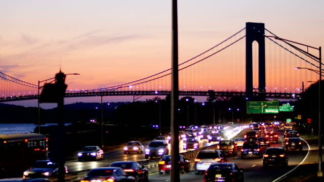 verrazano narrows bridge - coney island brooklyn stock videos and b-roll footage