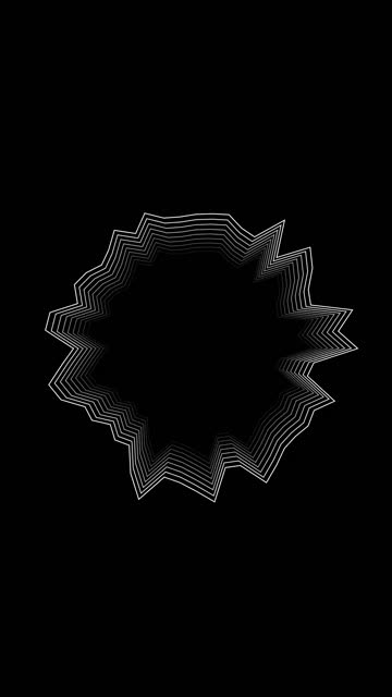 vidéos et rushes de vertical abstract logo promo pattern of circles or information blank box and buble for text with the effect of displacement white clean rings animation abstract background for business presentation seamless loop 4k render stock video - but égalisateur