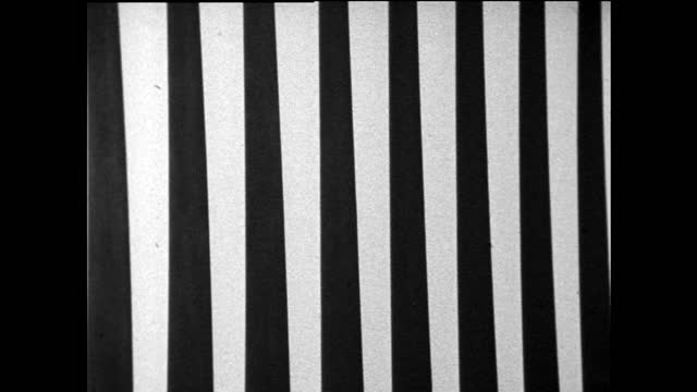 zo vertical black and white tapered lines ; 1967 - abstract backgrounds stock videos & royalty-free footage