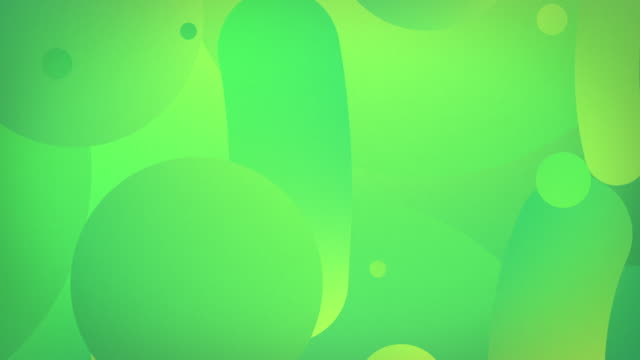 Vertical Shapes Flow 4K Loop - Green (With RF Audio)