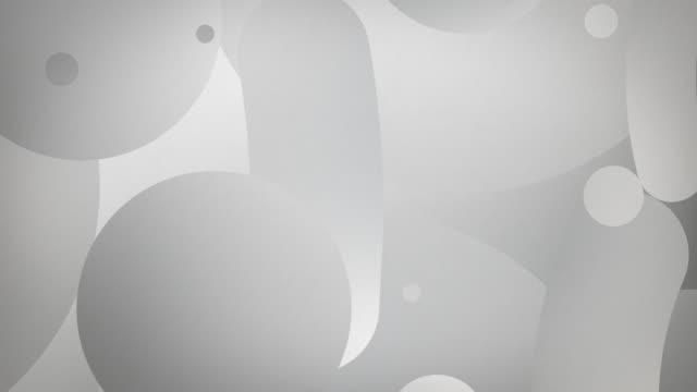 vertical shapes flow 4k loop - grey (with rf audio) - greyscale stock videos & royalty-free footage