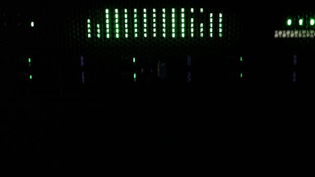 Vertical Slide of a Super Computer