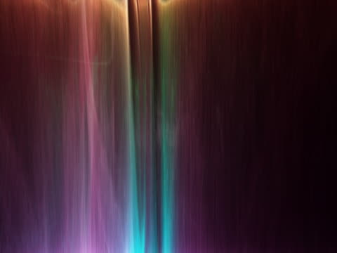 Vertical streaks of light