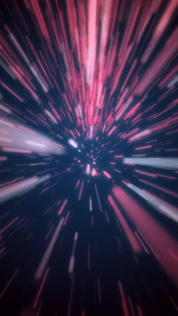 vertikale video looping light beam geschwindigkeit bewegung abstrakte hintergrund - astronomie stock-videos und b-roll-filmmaterial