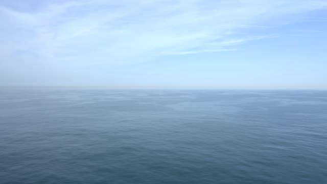 A very calm sea.