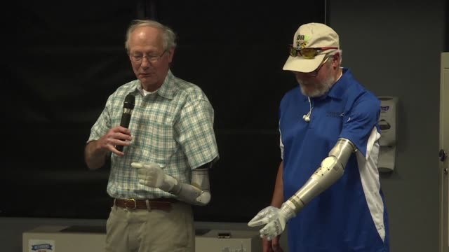 Veteran amputees are set to be the first beneficiaries of futuristic prosthetic arms which can grasp an object as fragile as an egg or as small as a...