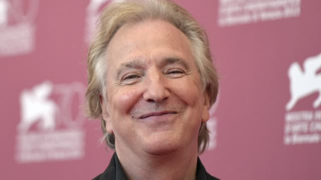 veteran british actor alan rickman has died at the age of 69 after suffering from cancer, his family said thursday - thursday stock videos & royalty-free footage